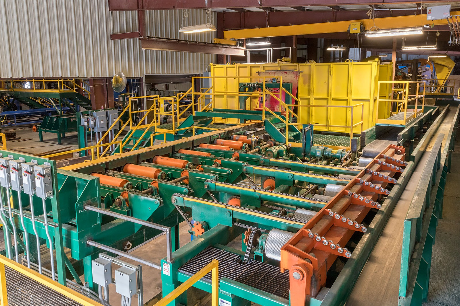 Industrial Lumber Mill Equipment